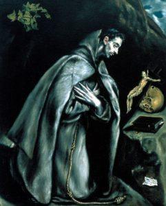 El Greco, Modltwa św. Francszka, 1587-97