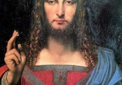 """Wielkie odkrycie w sztuce: """"Salvator Mundi"""" Leonarda da Vinci"""