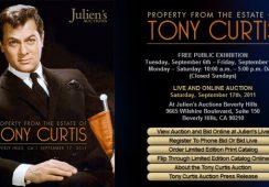 Kolekcja Tony'ego Curtisa pójdzie pod młotek