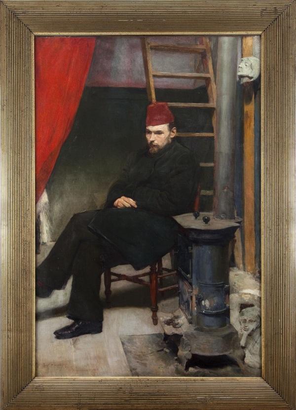Józef Mehoffer, Portret Laszczki, 1894