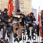 Chris Niedenthal, Strajk w stoczni im. Lenina w Gdańsku, maj 1988 (2)