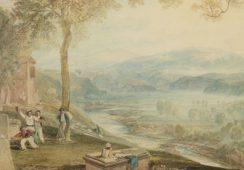 XIX-wieczna akwarela Williama Turnera sprzedana za 217.250 funtów