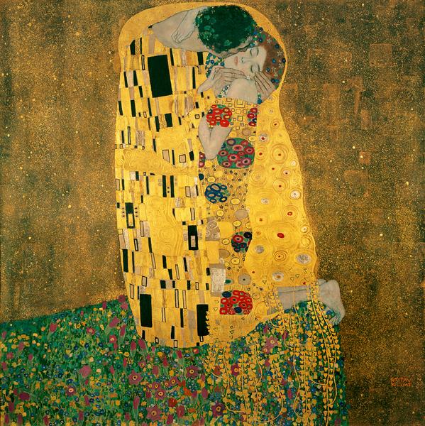 The Kiss, Źródło: Österreichische Galerie Belvedere