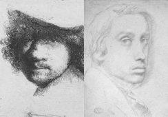 Prawda czy fałsz: Wpływ twórczości Rembrandta na dokonania artystyczne Degasa