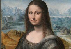 Kopia La Giocondy w Muzeum w Prado