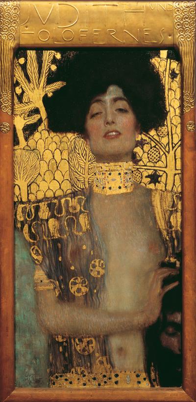 Gustav Klimt, Judith I, Źródło: Österreichische Galerie Belvedere