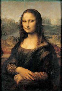 Mona Lisa, Leonardo da Vinci; Źródło: Muzeum Luwr