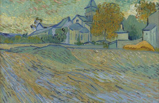 Vincent Van Gogh (1853-1890) , Vue de l'Asile de la Chapelle de Saint-Remy, Źródło: Christie's