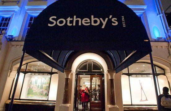 Dom Aukcyjny Sotheby's; Źródło: Sotheby's
