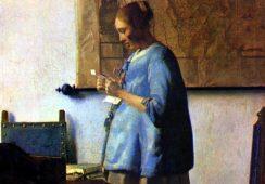 """Arcydzieło Vermeera """"Kobieta w błękitnej sukni"""" zostało odrestaurowane"""