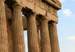 Starożytna grecka rzeźba ukryta w zagrodzie dla kóz