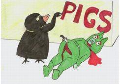 """Rewolucja artystyczna w Moskwie: Wystawa młodych twórców """"Angry Birds"""""""