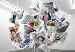 """Zależności między sztuką a mediami: Wystawa """"ARTandPRESS"""""""