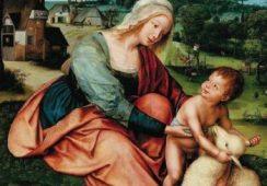 """Obraz """"Madonna z Dzieciątkiem i barankiem"""" pojechał do Paryża"""