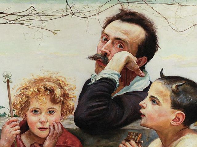 Wlastimil HOFMAN ,Apoteoza sztuki, 1920, Źródło: Rempex