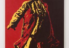 Obnażone genitalia i poza Lenina: obraz przedstawiający prezydenta Zumę zdewastowany