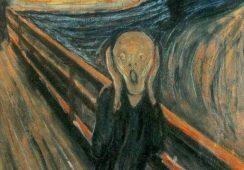 """Znamy sekret białej smugi na słynnym """"Krzyku"""" Muncha"""