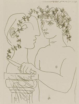 Pablo Picasso, Źródło: British Museum