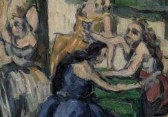 Paul Cézanne, Kurtyzany, Źródło: Fundacja Barnesa