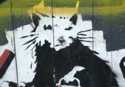 Dzieło Banksy'ego warte kilkadziesiąt tysięcy dolarów zostało zniszczone