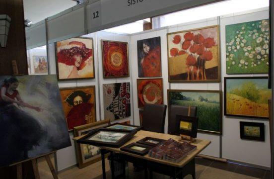 Stoisko SISTO Gallery na krakowskich Targach Sztuki Art Expo 2012