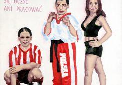 Obraz z kolekcji Fundacji Sztuki Polskiej ING w krakowskim MOCAK-u
