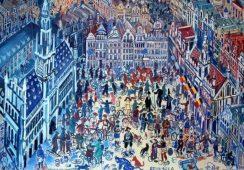 Polska sztuka na Mont des Arts w Brukseli