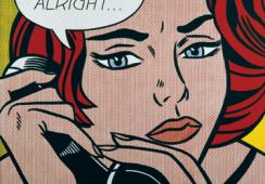 """""""Whaam! Bratatat! Varoom!"""", czyli retrospektywna wystawa prac Roya Lichtensteina"""
