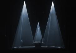 Świetlne rzeźby w Berlinie