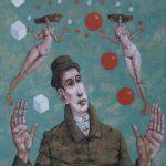 Żonglerka, Źródło: Galeria Sztuki Wirydarz