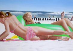 Lato nieskończenie idealne na obrazach Kasi Domańskiej