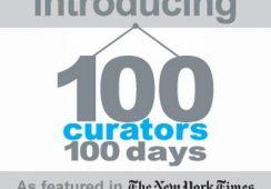 """Saatchi Online przedstawia: """"Stu kuratorów, sto dni"""""""