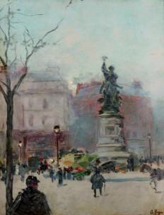 G. Payen, La Place de Clichy, Źródło Galeria Antykwariat