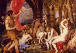 """""""Diana"""" współcześnie, czyli naga piękność z obrazów Tycjana w National Gallery"""