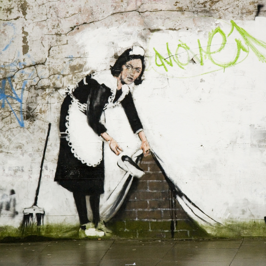 Banksy Grafitti, Londyn