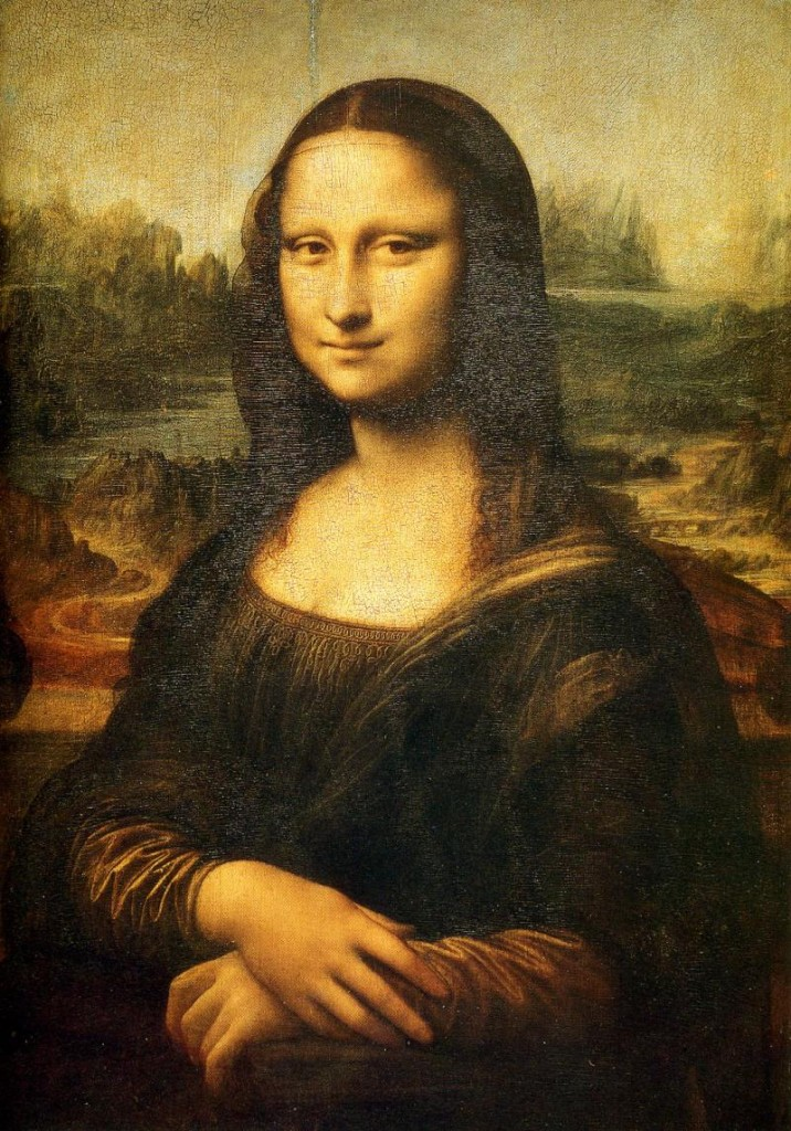 Mona Lisa, Źródło: Muzeum Luwr