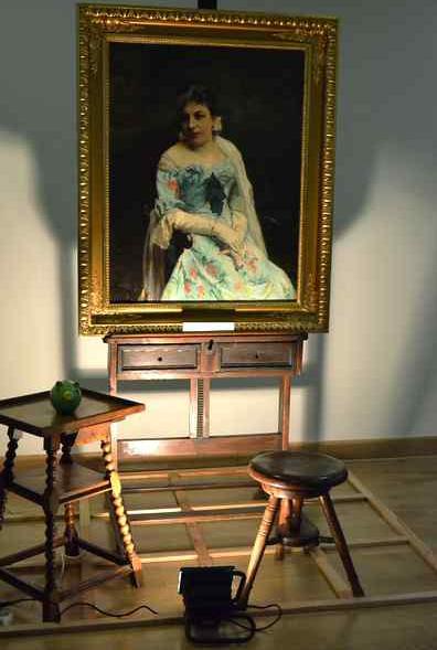Zdjęcie portretu Jadwigi Wierusz-Kowalskiej autorstwa Iwony Danilewicz