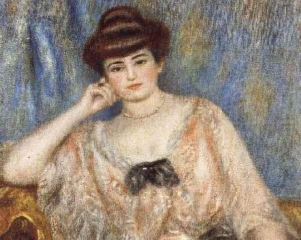Portert Misi Sert, Renoir, Źródło: Muzeum d'Orsay