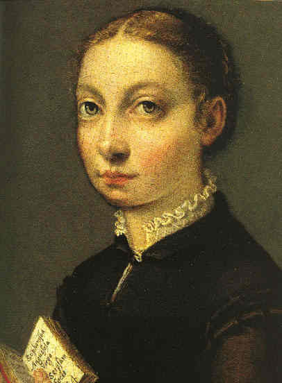 Sofonisba Anguissola, autoportret, Źródło: Museum of Fine Arts, Boston