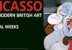 """Ostatni tydzień wystawy """"Picasso & Modern British Art"""""""