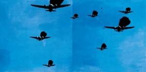 Wilhelm Sasnal, Samoloty, Źródło: Saatchi Gallery