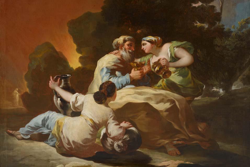 Francisco Goya, Lot i jego córki, Źródło: Dom Aukcyjny Koller