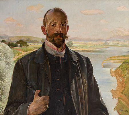 Jacek Malczewski, Autoportret, 1901, Źródło: MNK
