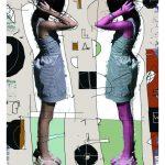 """Ryszard Gancarz, """"Ola B2"""", grafika cyfrowa, 100x70 cm, artpower.pl"""