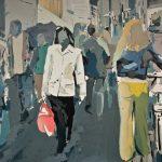 """Kamil Siczek, """"Ulica"""", olej, 90x130 cm, Źródło: ArtPower"""