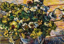 "Włos Vincenta van Gogha i  ""Martwa natura z peoniami"""