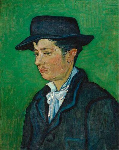 Van Gogh, Portret Armanda Roulin, Źródło: