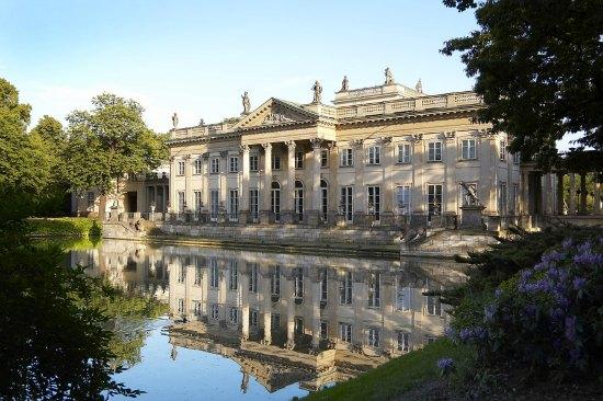Remont Pałacu Na Wodzie Portal Rynek I Sztuka