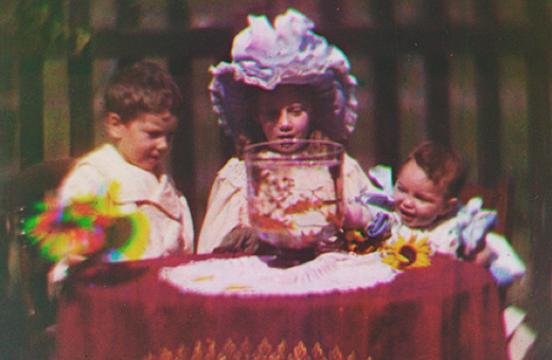 Kadr z najstarszego fimu, źródło: nationalmediamuseum.org.uk