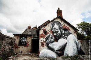 Mural wykonany przez MTO, źródło: streetartutopia.com